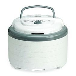 Snackmaster Pro Food Dehydrator White 600 Watts 5 Trays Expa