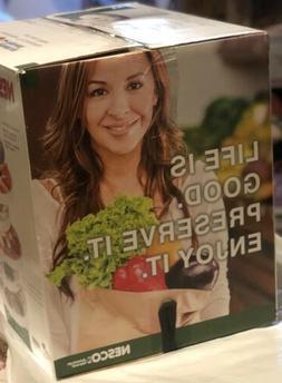 Snackmaster Pro Food Dehydrator, White Top-mounted Fan Adjus