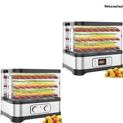 Stackable Trays Food Dehydrator Machine Electric Multi-layer