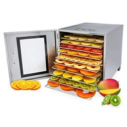 Morvat Stainless Steel Food Dehydrator Machine, Make Fruit L