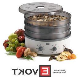 Stockli Dorrex Dehydrator Fruit Dryer 3 Stainless-Steel Mesh