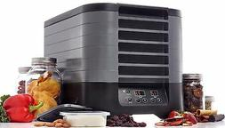 Excalibur STS60B 6-Tray Stackable Electric Food Dehydrator w