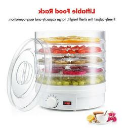 5 tray food dehydrator machine adjustable portable