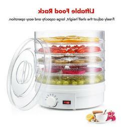 us 5 trays food dehydrator fruit vegetable