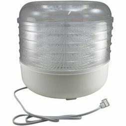 Cooks Club USA 125W Mini Food Dehydrator, White