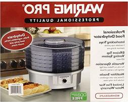 WaringPro 620W 5-Tray Professional Food Dehydrator WDHR60SIL